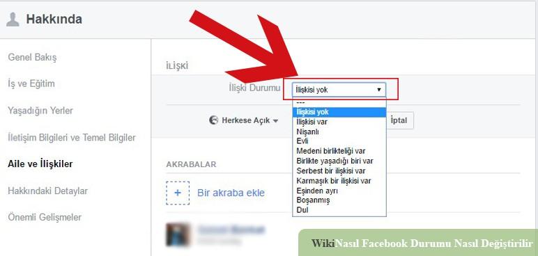 Facebook Durumu Nasıl Değiştirilir