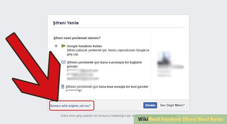 facebook şifresi kırmak mümkün mü