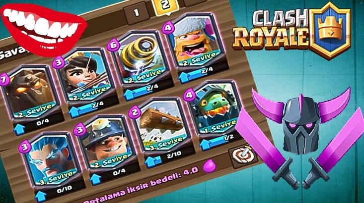 Clash Royale En İyi Deste Nasıl Dizilir?