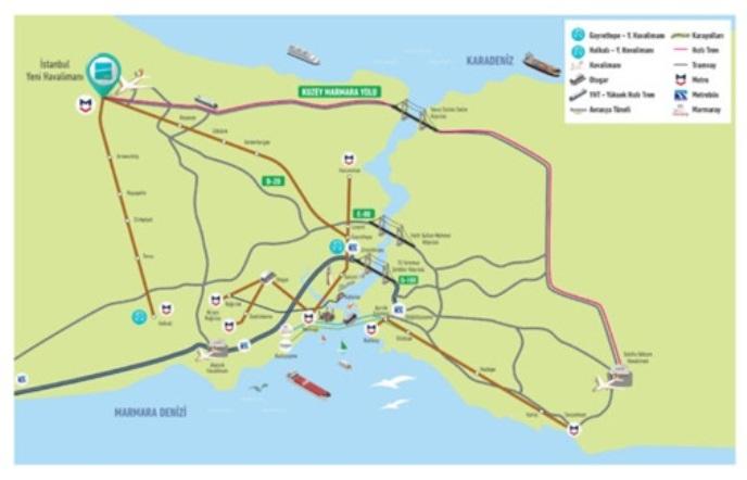 Yeni İstanbul Havalimanına nasıl gidilir