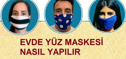 Evde Yüz Maskesi Nasıl Yapılır 3